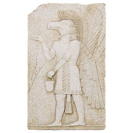 Quadro Marmorizado - Deus Egípcio