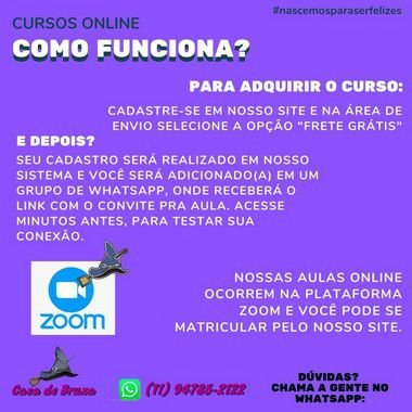 25/08/2021 - Aromaterapia & Cosmetologia Natural (ONLINE)