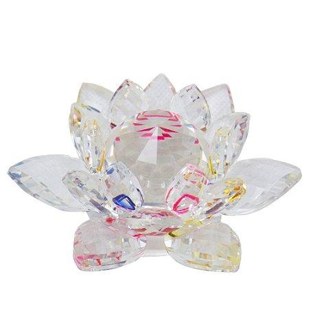 Flor de Lotus de vidro