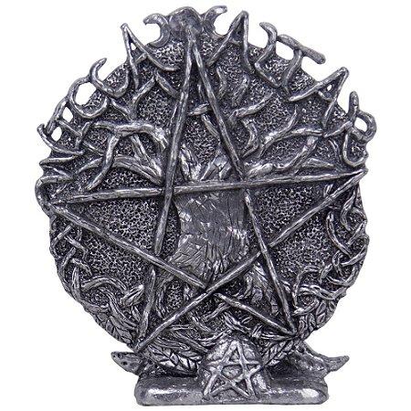 Placa Altar Pentagrama