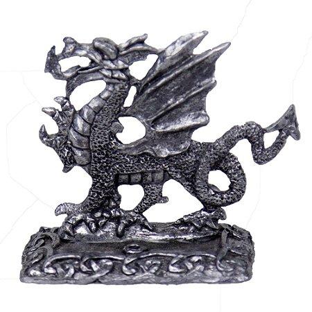 Incensário de Estanho Dragão Céltico
