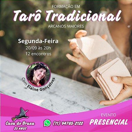 20/09/2021 - Segunda-feira - Tarô Tradicional - Arcanos Maiores (ONLINE)