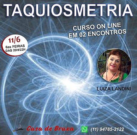 11/06/2021 - Taquiosmetria (ONLINE)