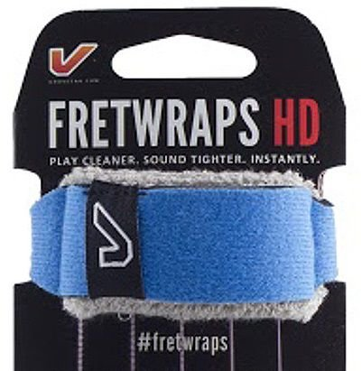 Fretwrap GruvGear Azul para Baixo de 5 Cordas (Médio)