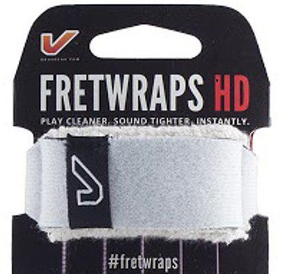 Fretwrap GruvGear Branco para Baixo de 5 Cordas (Médio)