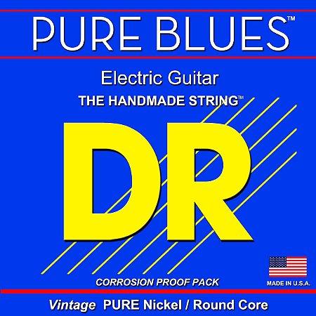 Encordoamento DR STRINGS Pure Blues para Guitarra .10