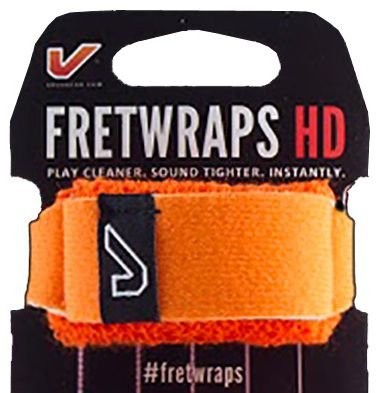 Fretwrap GruvGear Laranja para Baixo de 5 Cordas (Médio)