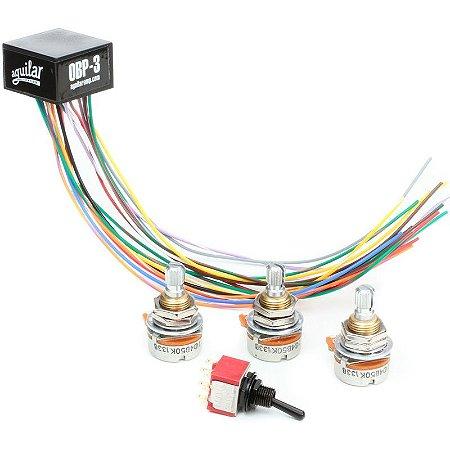 Circuito Pré Amp On Board Aguilar Obp3 Completo 3TK