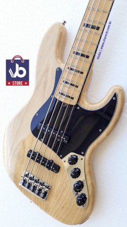 Baixo Fender American DELUXE V Natural (Super Conservado) - Ano 2013