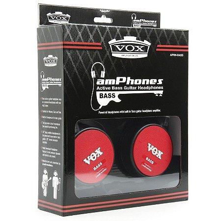 Vox Amphone Bass - Fone De Ouvido Amplificado P/ Contrabaixo