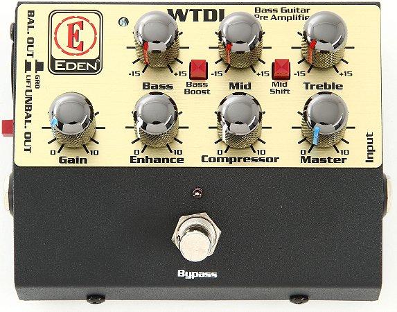 Pedal Pre Amp + DI David EDEN