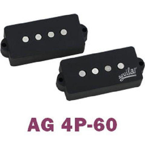 Captadores AGUILAR para baixo de 4 cordas AG 4P-60 para Precision