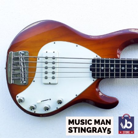 Baixo MUSIC MAN Sting Ray 5  - Ano 98