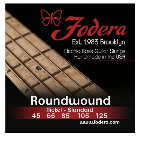 Encordoamento para baixo FODERA 5 cordas - 0.45 Nickel