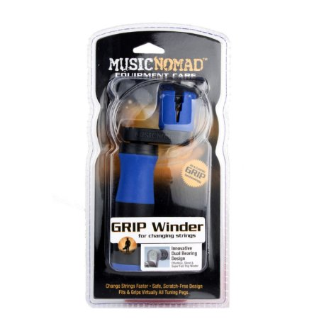 **EXCLUSIVO** Trocador de Cordas GRIP WINDER MusicNomad