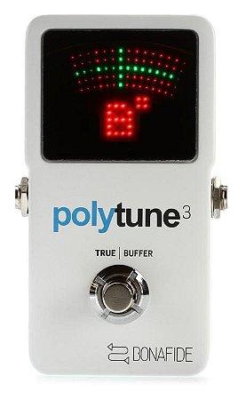Pedal Afinador POLYTUNE 3 Tc Eletronic - Lançamento