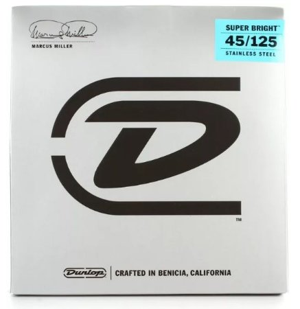Encordoamento para Baixo Dunlop Marcus Miller - 5C