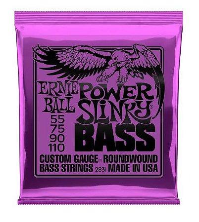 Encordoamento Ernie Ball Super Slink 4 Cordas 0.55 - Originais