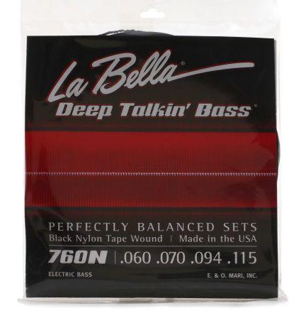 Encordoamento Nylon Black Tape Wound Labella para Baixo 4C 0.60 Standard