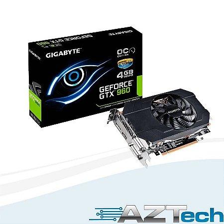 Placa De Vídeo Geforce Gtx 960 Mini 4gb Gigabyte Oc Ddr5