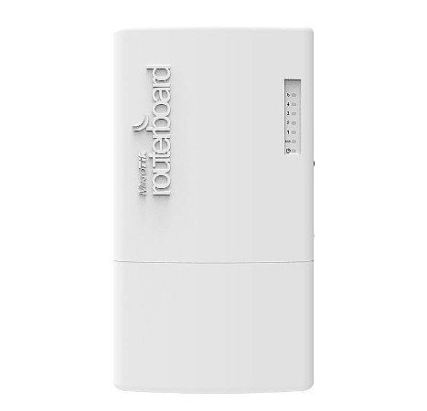 Roteador Outdoor Mikrotik Fiberbox Crs105-5s-fb 5 Portas Sfp