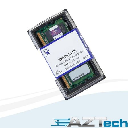 Memória Notebook Ddr3l 8gb 1600m Kingston Kvr16ls11/8