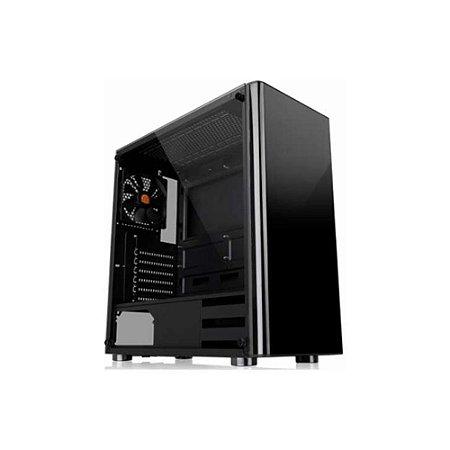 Gabinete Thermaltake V200 Tg Black Ca-1k8-00m1wn-00
