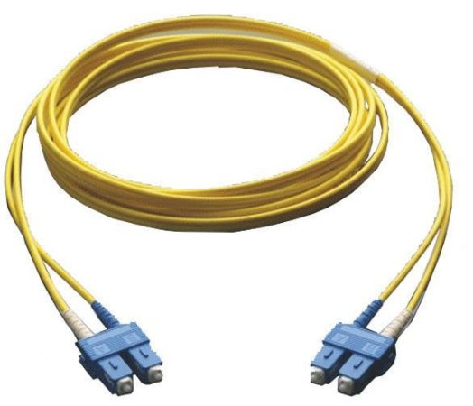 Patch Cord Fibra Óptica Sc-upc Duplex Single Mode 2.0mm 3m