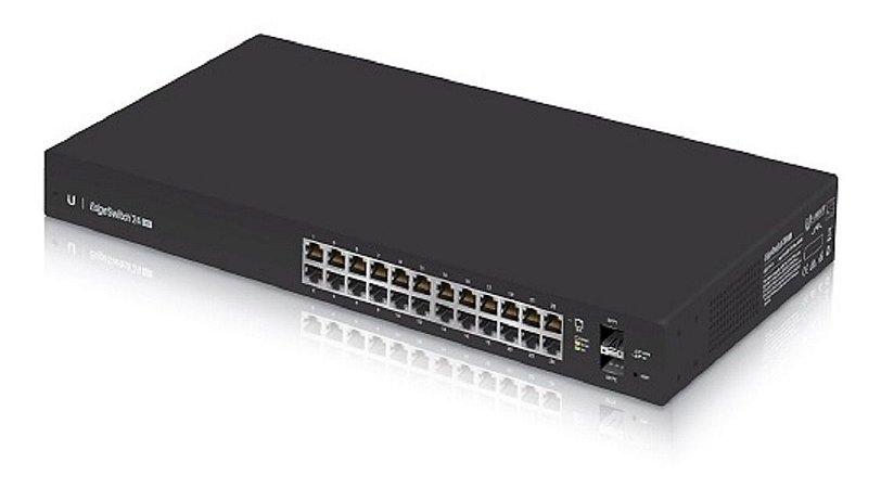 Switch 24 portas Gerenciável L2+ L3 Ubiquiti Es-24-Lite-BR Edgeswitch 2 SFP