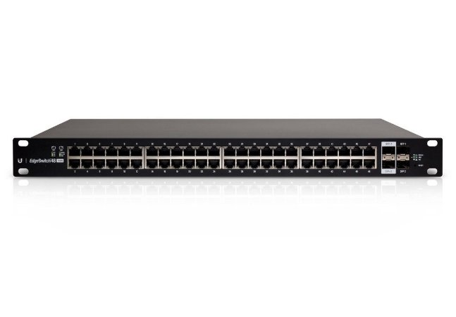 Switch 48 portas Gigabit L3 POE Ubiquiti Es-48-750w Br Edgeswitch