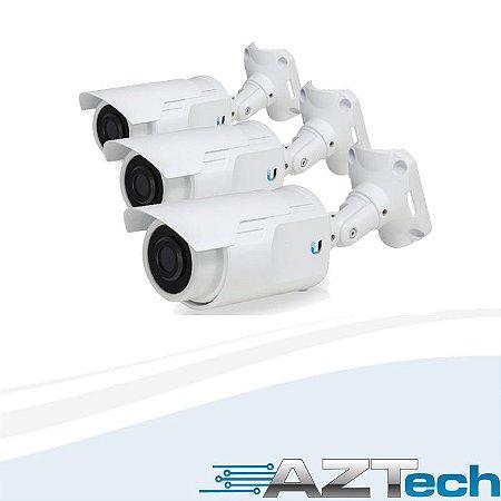 Câmera Ip Ubiquiti Uvc-3-br Unifi Vídeo Câmera Pacote Com 3