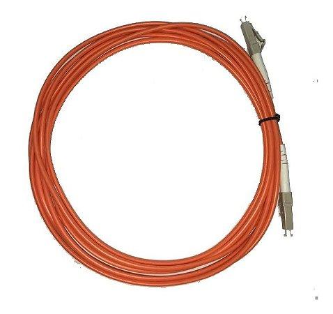 Patch Cord Fibra Óptica Lc-upc Multi Mode Simplex 3.0mm 3m