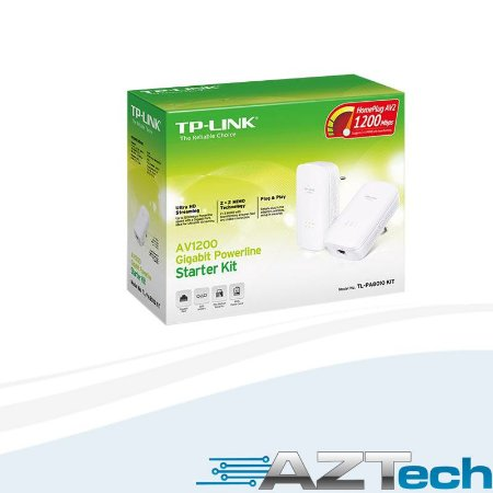 Adaptador Powerline AV1200 Gigabit TL-PA8010 Kit TP-LINK
