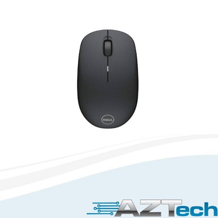 Mouse Sem Fio Óptico Preto 1000dpi Dell Wm126 Wireless