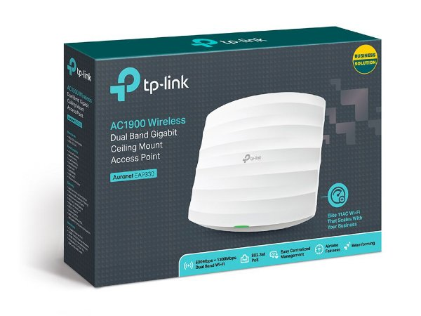Access Point Wireless Ac1900 TP-Link Auranet Eap330 Dual Band Gigabit AP de Teto