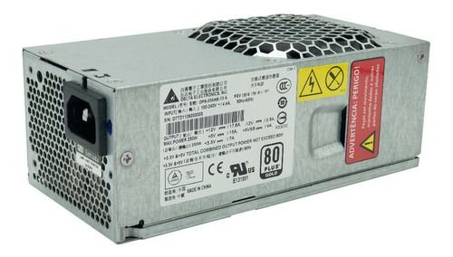Fonte Atx Slim  80 Plus Gold 250watts Delta Dps-250ab-72 A