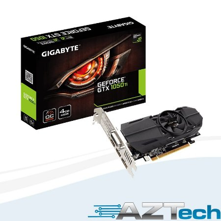 Placa De Vídeo Gtx1050ti 4gb Oc Low Profile Ddr5 Gigabyte