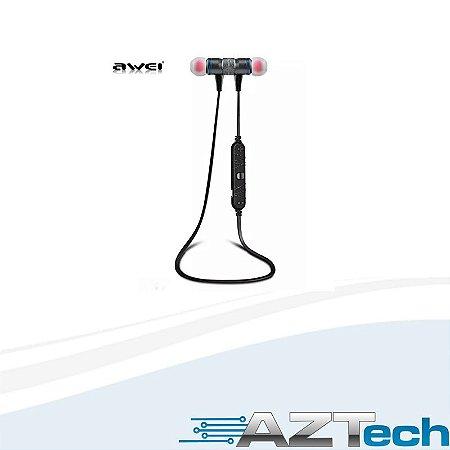 Fone De Ouvido Bluetooth V4.1 Awei A920bl Sports Preto