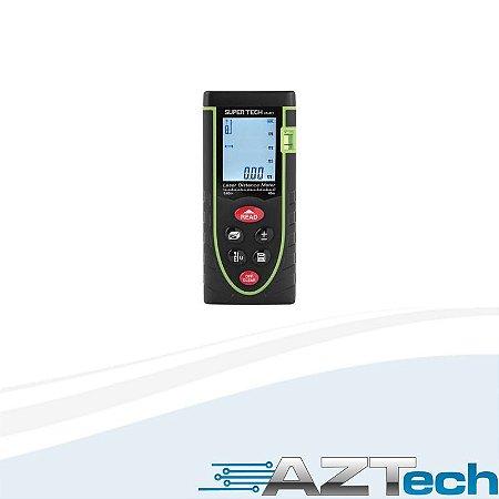 Trena A Laser Super Tech Sp40xt Até 40mts Com Cálculo De Volume