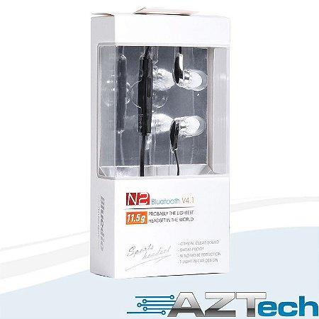 Fone Ouvido Bluetooth 4.1 Bluedio N2 Sport Original