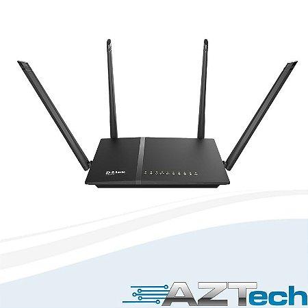Roteador Wireless D-link Dir-815 Ac1200 Dual Band 4 Antenas