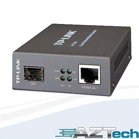 Conversor Midia Gigabit SFP Tp-link TL-Mc220l
