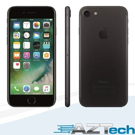 Apple Iphone 7 Preto Matte 32 Gb Tela 4,7 4g 12 Mp Mn8x2br/a