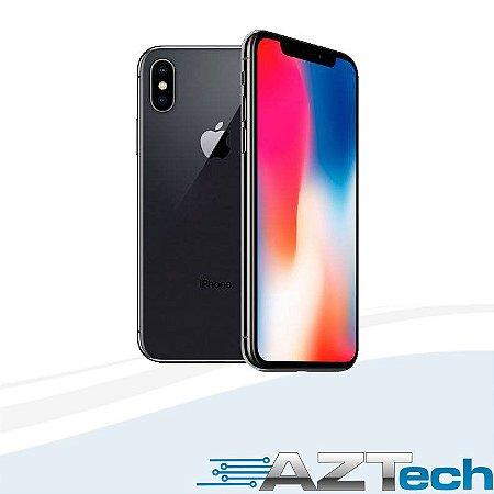"""Apple IPhone X Cinza Espacial Tela de 5,8"""", 4G, 64 GB e Câmera de 12 MP - MQAC2BZ/A"""
