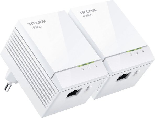 Kit 2 Peças Adaptador Powerline Gigabit Tplink TL-PA6010kit 600mb/s AV600