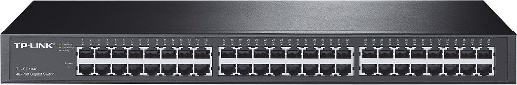 Switch Gigabit De 48-portas Tl-sg1048 Tp-link 10/100/1000