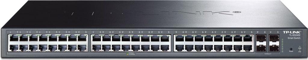 Switch 48 portas Gigabit Gerenciável Tp-Link T1600G-52TS (TL-SG2452)