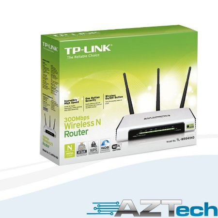 Roteador Wireless Tp-link Tl-wr941nd 300mbps