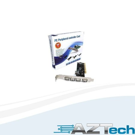 Placa Usb Pci 5 Portas Usb 2.0 Pc3 - Empire