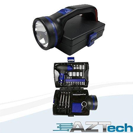 Kit Ferramentas Com Lanterna Brlf27 Br Tools